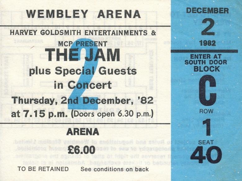 Jam Ticket 82