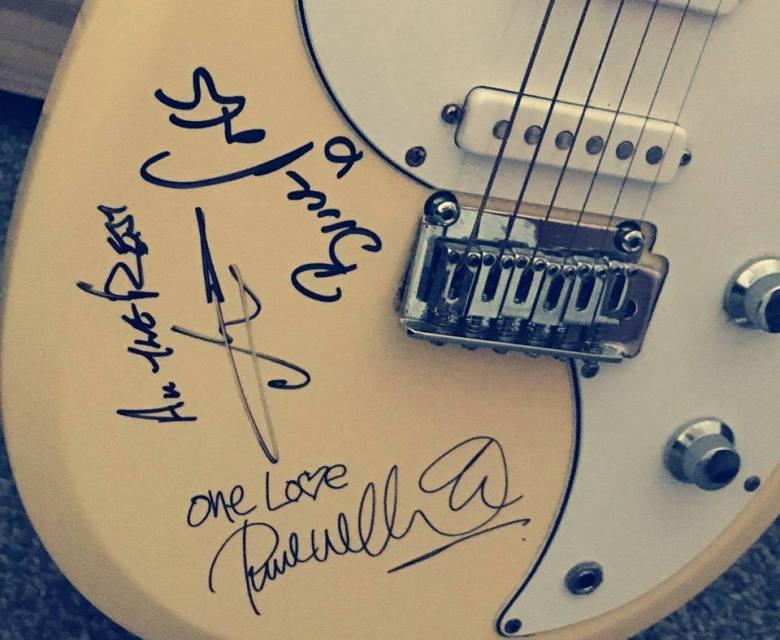 Jam Signed Guitar 1