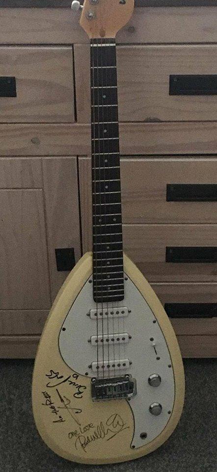 Jam Signed Guitar 2