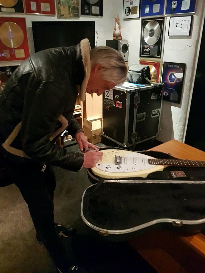 Jam Signed Guitar 3